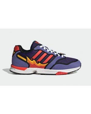 """The Simpsons x Adidas ZX 1000 """"Flaming Moe's"""" Purple H05790"""