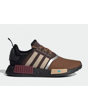 "Star Wars x Adidas NMD R1 ""The Mandalorian"" Brown/Pale Nude-Maroon GZ2745"
