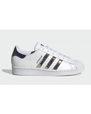 Adidas Superstar Cloud White/Silver Metallic-Core Black FW3915