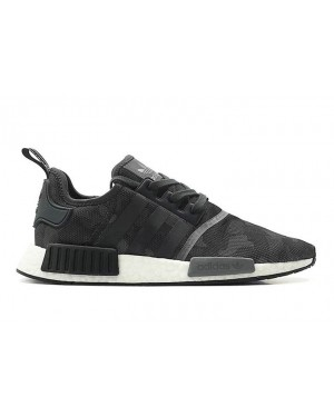 Adidas NMD R1 Shoes Black D96616