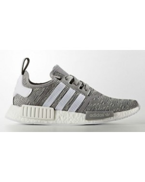 Adidas NMD R1 Glitch Solid Grey/White BB2886
