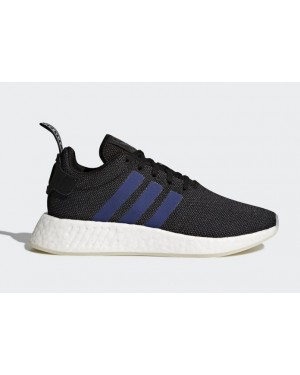 9cdc3a991bab6 Adidas Originals Women s NMD R2 Black Sneakers CQ2008 ...