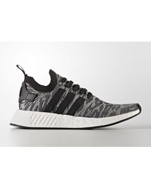 Adidas Originals NMD R2 PK Black Sneakers BY9409