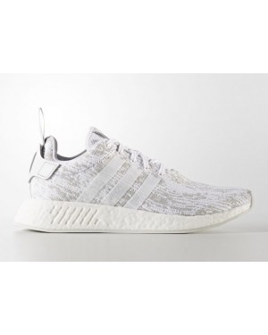 a2757b0cd adidas nmd r2 primeknit men's shoe white/core red