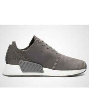 Adidas x Wings+Horns NMD R2 Men's Leather Grey BB3117