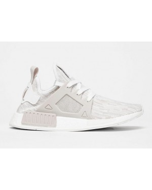 Adidas NMD XR1 Primeknit Shoes White