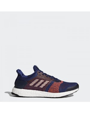 Adidas Ultra Boost ST Blue Solar Orange BY1899