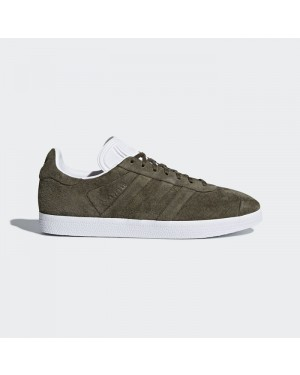 Adidas Gazelle Stitch and Turn Shoes Men's Originals Green CQ2359