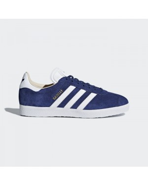 Adidas Gazelle Shoes Women's Originals Blue CQ2187