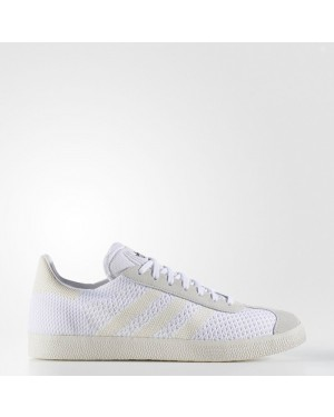Adidas Gazelle Primeknit Shoes Originals White BZ0005