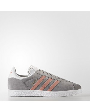 Adidas Gazelle Shoes Women's Originals Grey BY9362