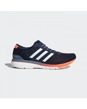 Adidas adizero Boston 6 Shoes Men's Running Blue BB6412