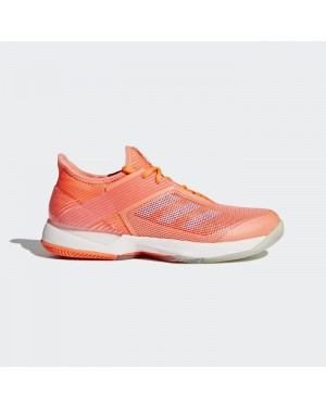 Adidas adizero Ubersonic 3.0 Shoes Women's Tennis Orange CM7751