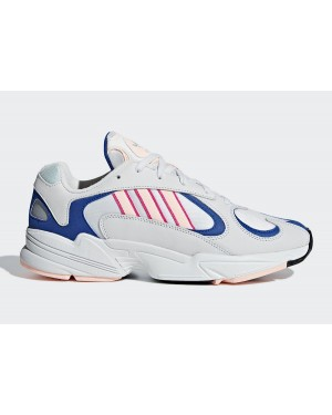 adidas Yung-1 White/Pink/Royal BD7654
