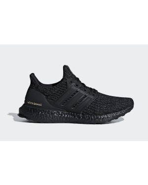 adidas Ultra Boost 4.0 Triple Black Gold F36123