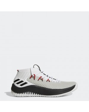 adidas Dame 4 Rip City Mens By3759 Black White Red