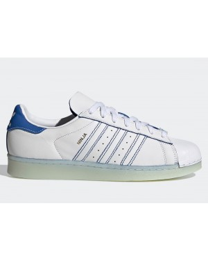 Ninja x adidas Superstar White/Chalk White/Blue FX2784