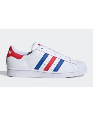 adidas Americana vs. Superstar White Blue Red FV2806