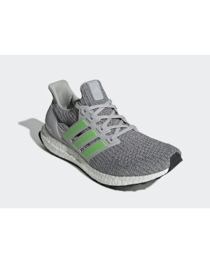 adidas Ultra Boost 4.0 Grey Shock Lime F35235