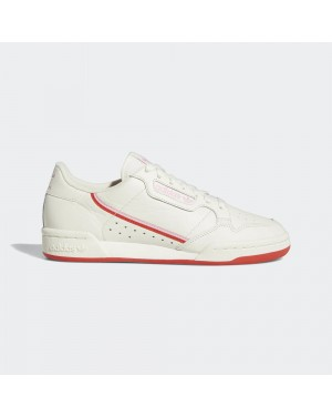 adidas Originals Continental 80 Off White/Active Red/True Pink EE3831