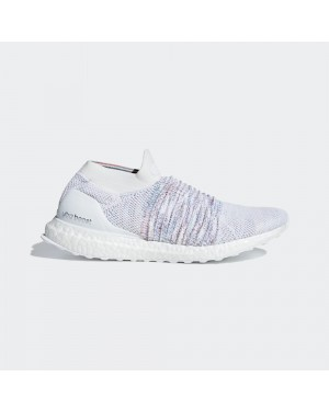 adidas UltraBOOST Laceless White Multi-Color Rainbow B37686