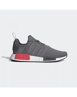 adidas BD7730 NMD R1 Mens Running Shoe Grey/Shock Red