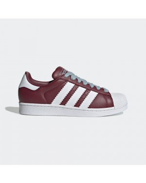 adidas Superstar Shoes Red BD7416
