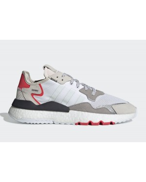 adidas Nite Jogger 2019 Boost 3M White/Red-Grey F34123
