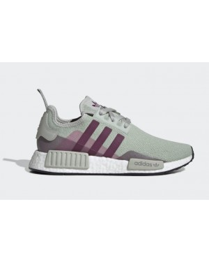 adidas NMD R1 Ash Silver Purple Beauty (W) - EE5177