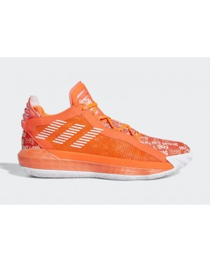 "Dame 6 ""Hecklers"" Red/White-Red - FU6808 - Adidas"