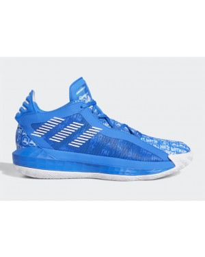 "Dame 6 ""Hecklers"" Blue/White-Blue - FU6809 - Adidas"
