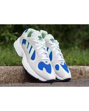 adidas Yung-1 White Glow Green Royal EE5318