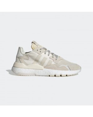 adidas Nite Jogger Shoes White EE8835