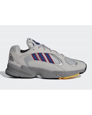 adidas Yung 1 Grey Two/Collegiate Royal-Scarlet CG7127