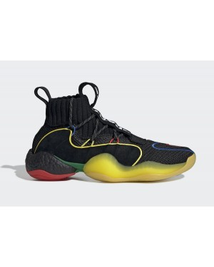 Pharrell x adidas Crazy BYW LVL X Core Black/Green-Black