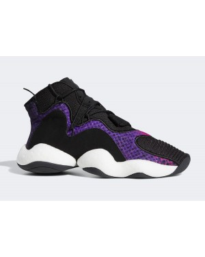 adidas Crazy BYW Core Black/Purple/Cloud White CG6780