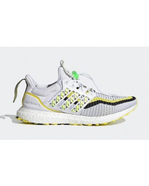 "Adidas Ultra Boost DNA ""Lion Dance"" Cloud White/Black-Solar Yellow GV9814"