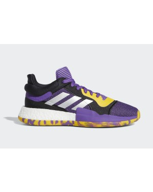 "adidas Marquee Boost Low ""Brandon Ingram"" Active Purple/Legend Purple-Bold Gold G27746"