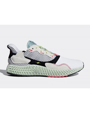 adidas ZX 4000 4D Red One/Core Black-Bright Cyan B42203