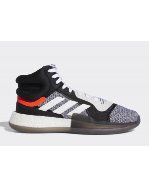 adidas Marquee Boost White/Core Black-Blue BB7822