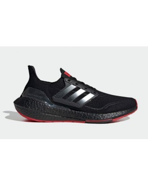 424 x Arsenal x Adidas Ultra Boost 2021 Core Black/Carbon-Scarlet GV9716