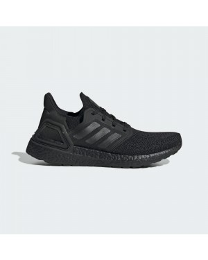 Adidas UltraBoost 20 FU8498 Black/Black/Red