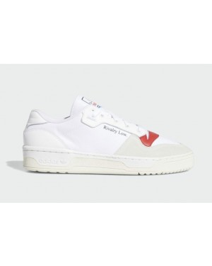 Adidas Rivalry Low EF6418 White/Chalk White-Glory Red
