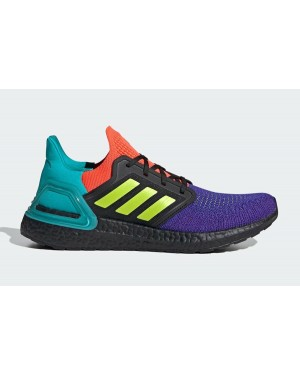 Adidas Ultra Boost 2020 FV8332 Black/Purple/Orange